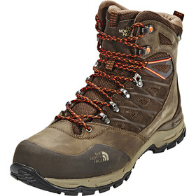 The North Face Hedgehog Trek GTX Shoes Herre demitasse brown/tibetan orange